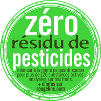 Zero Residu de pesticides-Rougeline